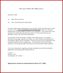 example of cover letter sample for scholarship bursary application