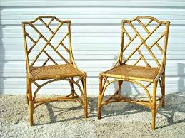 Vintage Rattan Bamboo Furniture Antique Chair Wicker