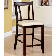 counter height chairs set of 2. Unique Counter Brent Contemporary Dark Cherry Counter Height Chair Set Of 2 On Chairs Set Of 2 C