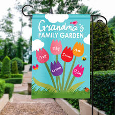 Small Picture Grandmas Family Garden Design Personalized HouseGarden Flag
