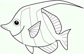 Small Picture Coloring Pages With Fish Coloring Pages