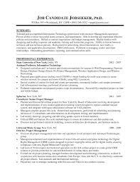 Cover Letter Senior Manager Resume Template Senior Project Manager