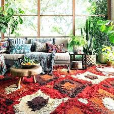 rug patterned area rugs living room circle medium size braided