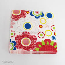 Flower Printed Paper New Design 20pcs Square Flower Printed Paper Napkin