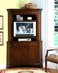 tall corner tv stands high corner stand furniture brown stained wooden tall corner media and throughout