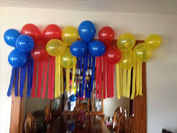 decoration ideas for birthday home decorate wonderful to balloon
