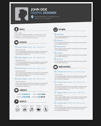 Gallery Of Graphic Designer Resume Cv Vector Download Design