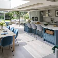all kitchen pictures scandi style open plan