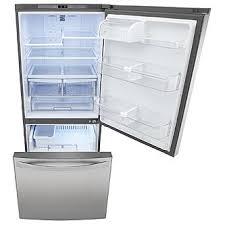 kenmore refrigerator stainless steel. kenmore elite 79023 22.1 cu. ft. bottom-freezer refrigerator - stainless steel c