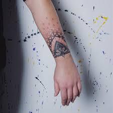 Tetování Na Zápěstí Mandala