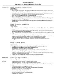 Sales Analyst Resume Sales Analyst Senior Resume Samples Velvet Jobs