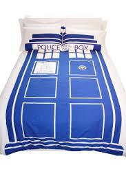 Amazon Dr Who TARDIS Double Duvet Set Home & Kitchen