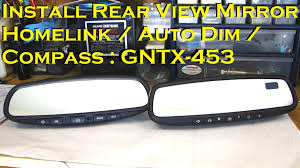 install rearview mirror homelink autodim compass for install rearview mirror homelink autodim compass for nissan