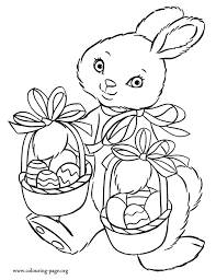 Easter Printable Coloring Pages Easter Eggs And Bunnies Templates