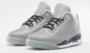 jordan shoes retro 3. new nike air jordan retro 3 5lab3 \u201creflect silver\u201d release dates reminder shoes