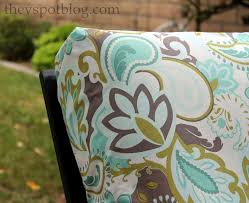 diy patio furniture cushions. no sew project how to recover your outdoor cushions using fabric and diy patio furniture o
