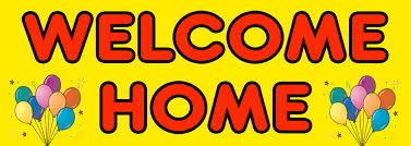 Personalised Welcome Home Banners Personalised Banners