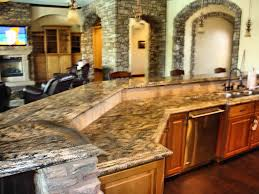 Kitchens With Granite Best Countertops For Kitchens Cabinet Also Island With Granite