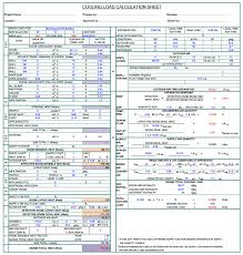 Cooling Load Calculation Hvac For Oil Gas Offshore