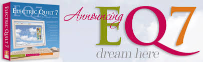EQ7 - Electric Quilt 7 (EQ7) bestellen & EQ7 quilt software aankondiging Adamdwight.com
