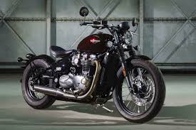2017 triumph bonneville bobber first look 10 fast facts