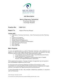 Pharmacy Technician Resume Objective Quick Pharmacy Technician Job