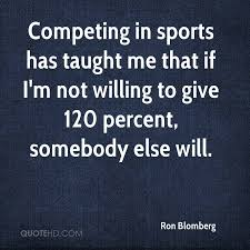 Sports Quotes Inspiration Ron Blomberg Sports Quotes QuoteHD