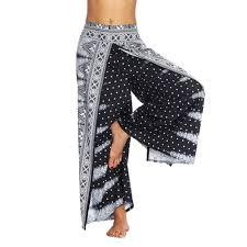Aribelly Harem Pants Womens Plus Hippie Bohemian Yoga