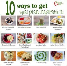 10 Ways To Get Inspired To Meal Plan Today Healthy Ideas For Kids
