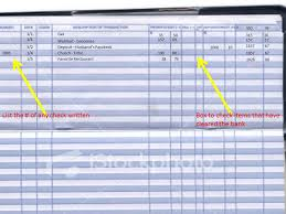 Check Ledger Book Balancing Your Checkbook A Key Part Of Your Financial Plan The