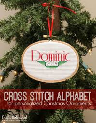 Cross Stitch Christmas Ornaments Patterns Free New Decorating Ideas