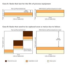 Kalrez Cost Savings Comparisons Case Studies C B Equipment
