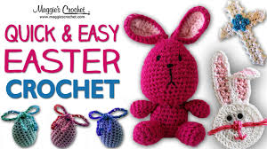 Youtube Free Crochet Patterns Interesting Small Easter Egg Free Crochet Pattern Right Handed YouTube