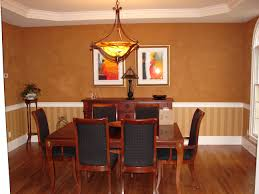 dining room retro wall paint decor designs table diy in brilliant chair rail molding ideas