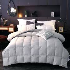 duvet cover for down comforter goose down comforter white gray queen king size bed set quilt