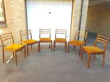roomtype dining chair 6 x mid century teak vine chairs by g plan delivery london se15