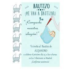Invitaciones Fiesta Invitaciones Personalizables Para El Bautizo De Tu Niño