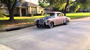 1952 Chevy LS swap first drive - Part 2 - YouTube
