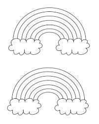 Coloring pages are learning activity for kids, this website have coloring pictures for print and color. Free Printable Rainbow Coloring Pages What Mommy Does