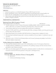 Entry Level Rn Resume Examples Travel Nurse Resume Nurse Resume