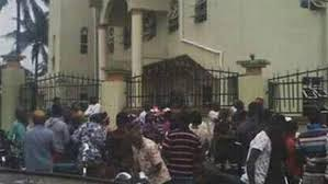 Image result for anambra tragedy on worshippers on sunday