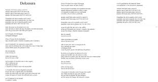 Dolcenera - De Andrè https://www.youtube.com/watch?v=4x18ukKY3m4