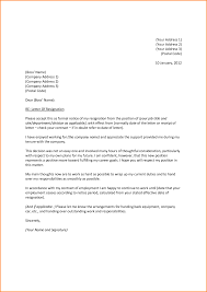 8+ formal resignation letter | receipts template