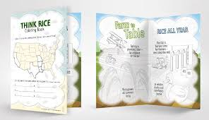 New Coloring Activity Book Lets Kids Get Creative | USA Rice Federation