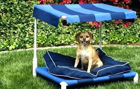 Outdoor Dog Bed With Canopy Diy Excellent Beds Inside Popul – life24.co