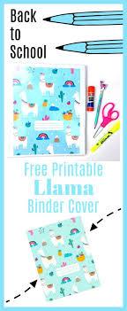 Free Printable Binder Covers Free Printable Llama Binder Cover Mom Collaborative