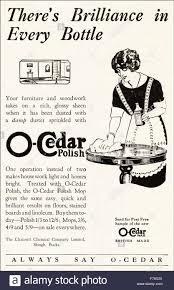1920s advertisement Advert dated 1923 advertising O Cedar Polish