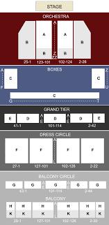 War Memorial Opera House San Francisco Ca Seating Chart