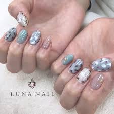 冬アートネイル Luna Nailルナネイルのネイルデザイン ネイル
