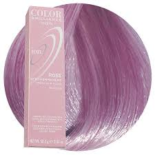 Rose Semi Permanent Hair Color Ion Hair Colors Hair Color
